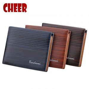 Baellerry Brand Wallet Men Pocket Casual Purse Money Clip Clutch Portfolio purse Multi-card bit Luxury High Quality wallets 1