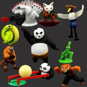 Free Shipping Children's Toys Gifts Joint Movable Action Figure Kung Fu Panda 3 2 Master Po Toy Doll Furnishing Articles 1