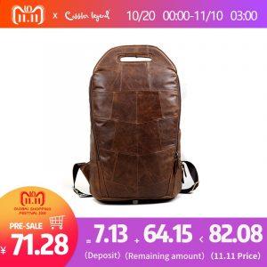 Genuine Leather Fashion Vintage Backpack