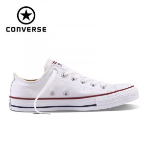 Authentic Converse ALL STAR Classic Breathable Canvas Low-Top Skateboarding Shoes Unisex Anti-Slippery Sneakers for Young 1