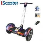 iScooter Hoverboard 10 inch two wheel electric skateboard with Bluetooth and smart self balancing scooter electric hoover board 2