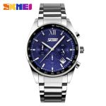 SKMEI Men Fashion Luxury Clock Watch Stainless Steel Strap for Man Top Brand Watches Business Wristwatch relogio masculino 9096 2
