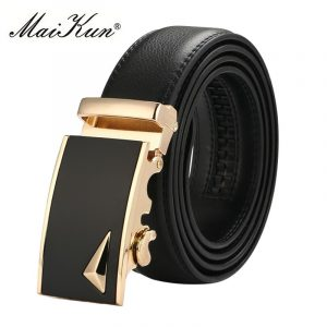 2018 Fashion Automatic Buckle Belts for Men Top Quality Strap Male Cinturones Hombre Cinto Masculino 1