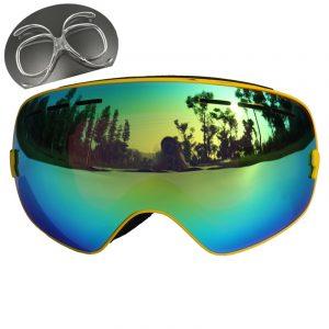 CE Certification Ski Glasses Double Lens UV 400 Anti-fog Ski Goggles Skiing Snowboard Motocross Goggles Big Ski Masks or Eyewear 1