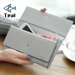 Women's purse women wallet women card holder coin purse coin female wallet long large capacity wallet female clutch 3 folders 3