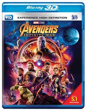 Avengers: Infinity War - 3D BD 1
