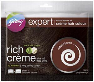 Godrej Expert Rich Crème, Natural Brown 1