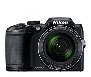 Nikon Coolpix B500 16MP Point and Shoot Digital Camera with 40x Optical Zoom (Black) + HDMI Cable + 16 GB SD Card + Carry Case 1