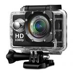 Teconica KL-5000 Full HD Action Camera with 170° Ultra Wide-Angle Lens & Full Accessories (Assorted Color) 10
