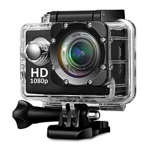 Teconica KL-5000 Full HD Action Camera with 170° Ultra Wide-Angle Lens & Full Accessories (Assorted Color) 1