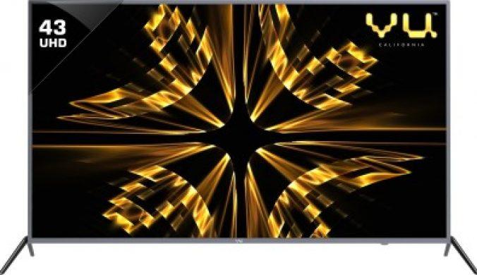 Vu Iconium 109cm (43 inch) Ultra HD (4K) LED Smart TV(43BU113) 1
