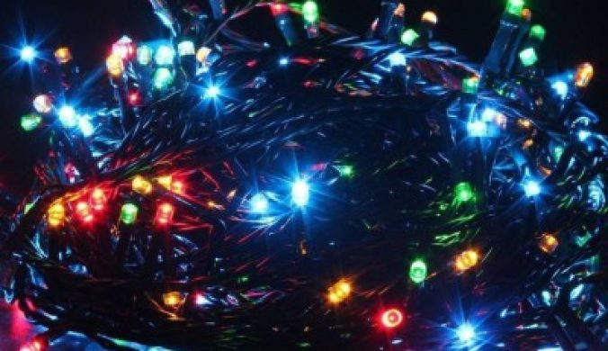 MLD 900 inch Multicolor Rice Lights(Pack of 1) 3
