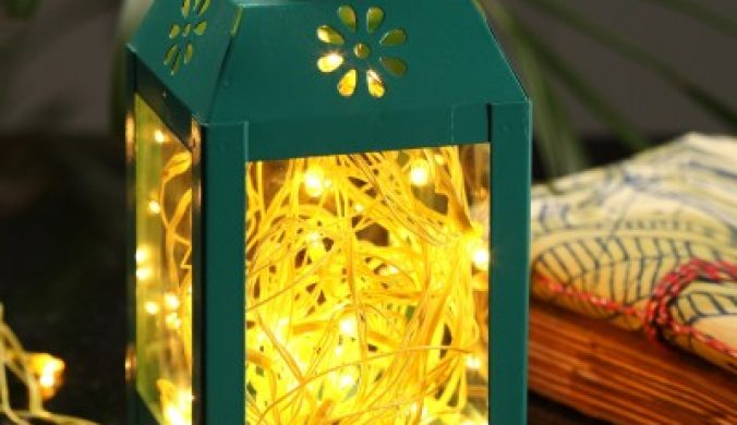 Home Delight 157 inch Yellow Rice Lights(Pack of 10) 7