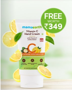 Shop for Rs 499/- & Get Vitamin C Hand Cream FREE